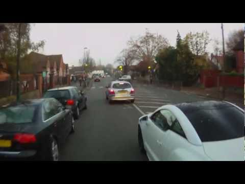 Vunerable Cyclist Films Ignorant Traffic