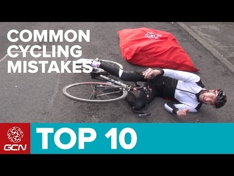 Top 10 Cycling Mistakes!