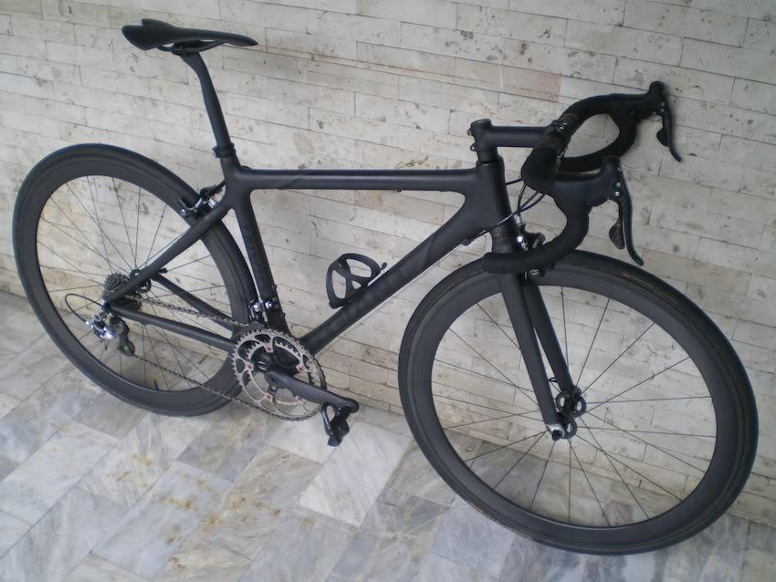 Black Spray Painted Bike